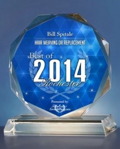 Bill Spitale Receives 2014 Best of Rochester Award